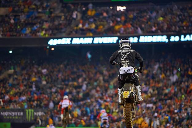 James Stewart heads to Vegas in a second place points battle with Ryan Dungey - Photo Credit: Hoppenworld