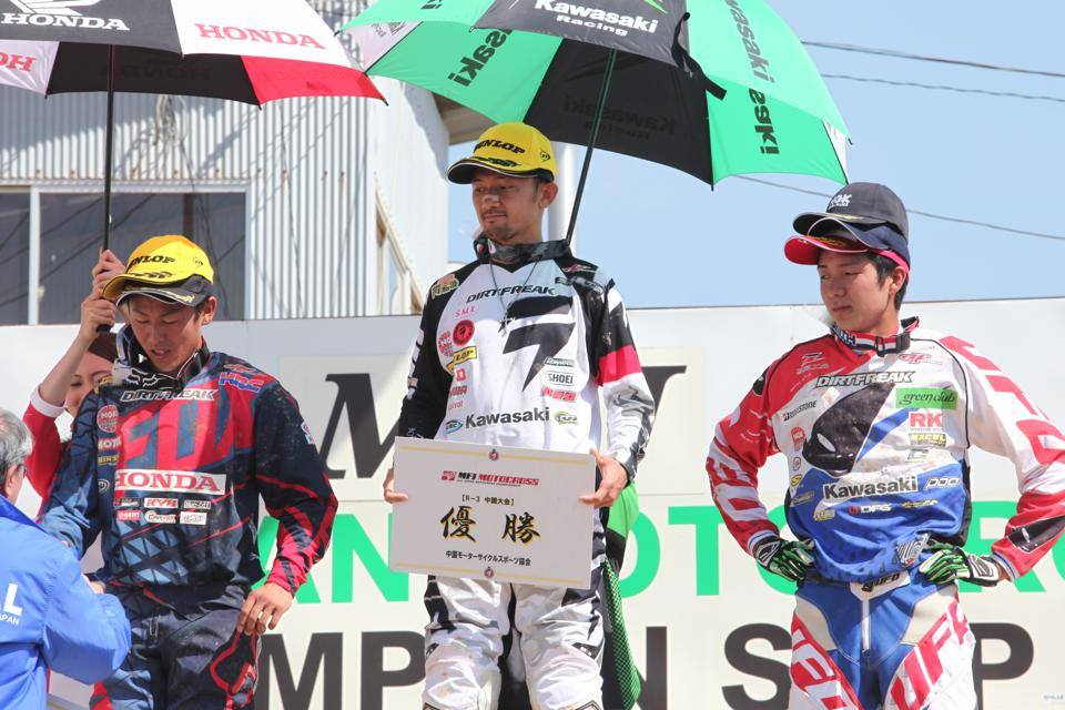Gold Coast racer Takeshi Katsuya continued his dominance of the 250 class to win both motos at Hiroshima and takes a handy 19 point lead over Toshiki Tomita into the Sugo round in two weekends time