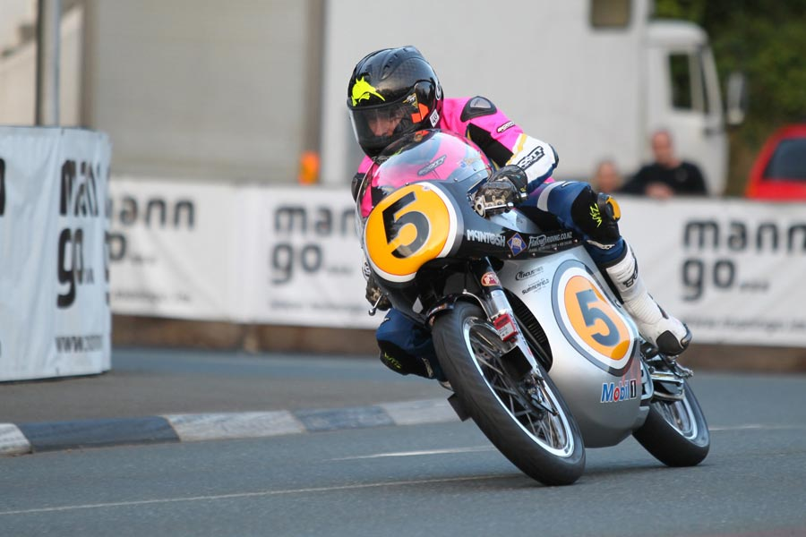 Bruce Anstey at the 2013 Classic TT