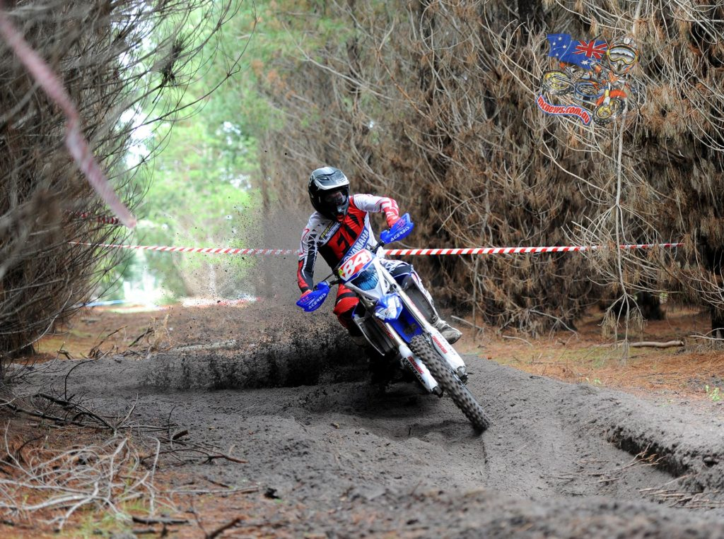 """""""The weekend wasn't great for me. I struggle in the sandy terrain and it's not my strong point so I focused getting good points and getting out of there healthy. The last rounds are on dirt that I like so I will look to attack those rounds and finish of the championship strongly,"""" Hollis said."""