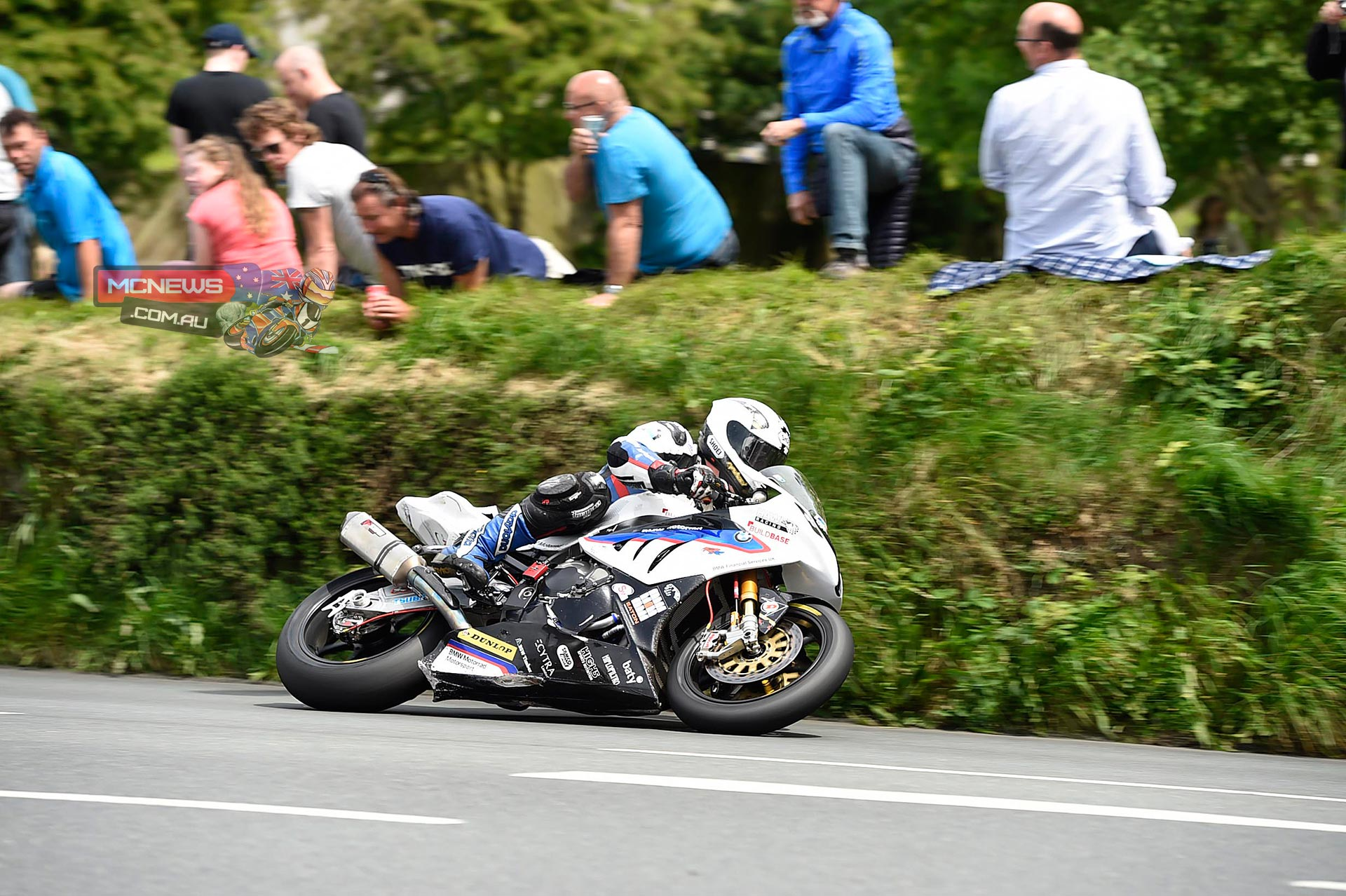 BMW and Michael Dunlop celebrate IOM TT Trifecta