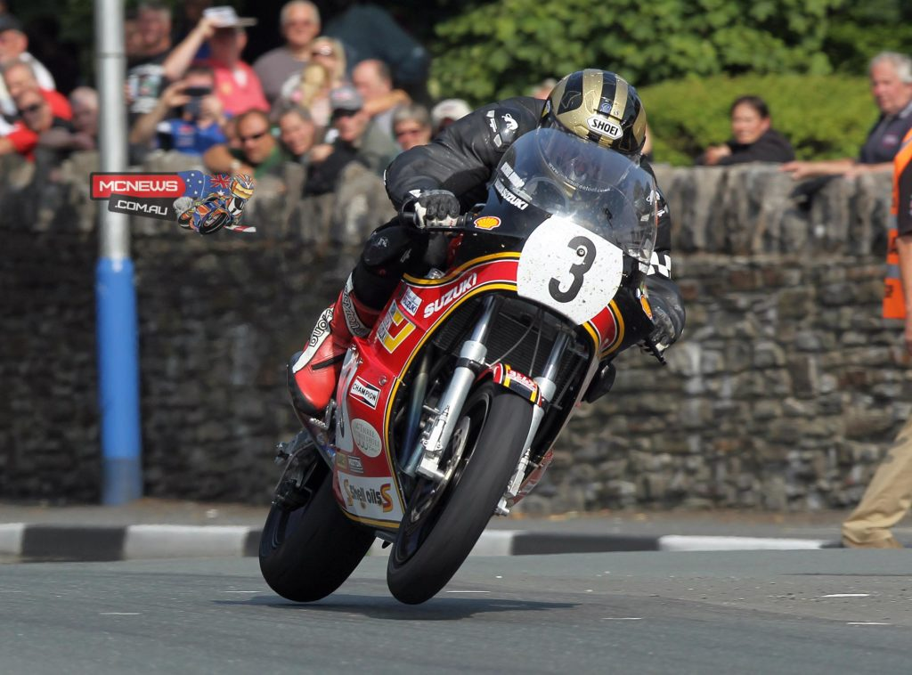 Michael Dunlop on the XR69 during the 2013 Classic TT - Michael will return to defend his title in 2014