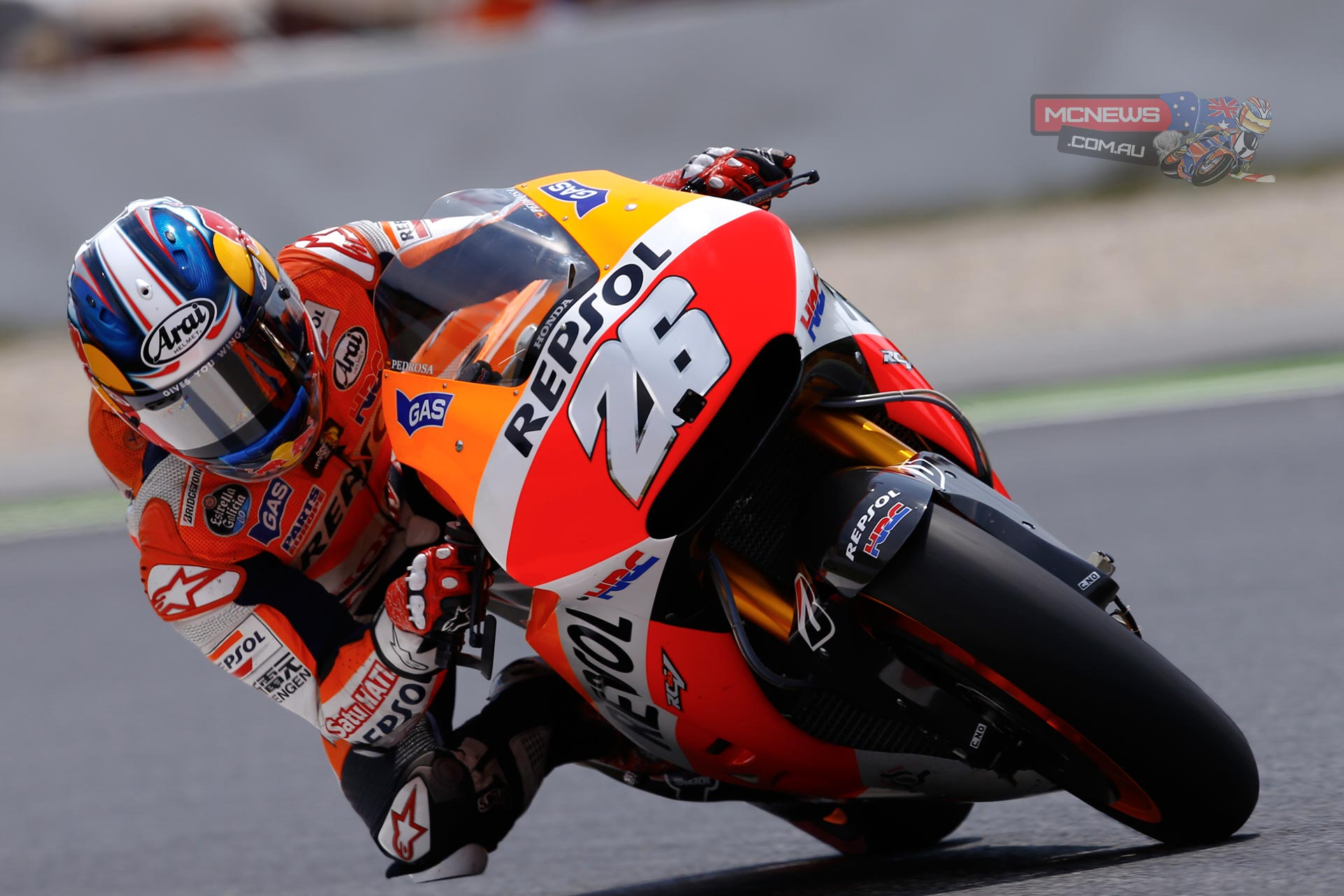 "Dani Pedrosa, Repsol Honda: 3rd - ""It was a very good, hard-fought race because we had four riders up at the front for most of the race. There was a lot of overtaking and it was very intense, because we were going so fast. Overall I am very satisfied, even though the end result was not the best. We fought hard and I felt much better physically. I'll take the positives from this race: I got my wish of being up at the front, both in practice and in the early laps of the race, and I ended the race fighting with Marc for the victory!"""