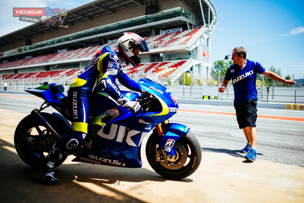 """Suzuki MotoGP Director and Project Leader Satoru Terada said: """"We had three-days with a hard job to do: We didn't get the lap time we wanted but we tested many solutions with good information and feedback for our engineers. We had chassis and engine development-spec to test and now we are clearer how to work in the future.   """"On the electronics-side, it was very important too and with this information we can go back to Japan to continue our development."""""""