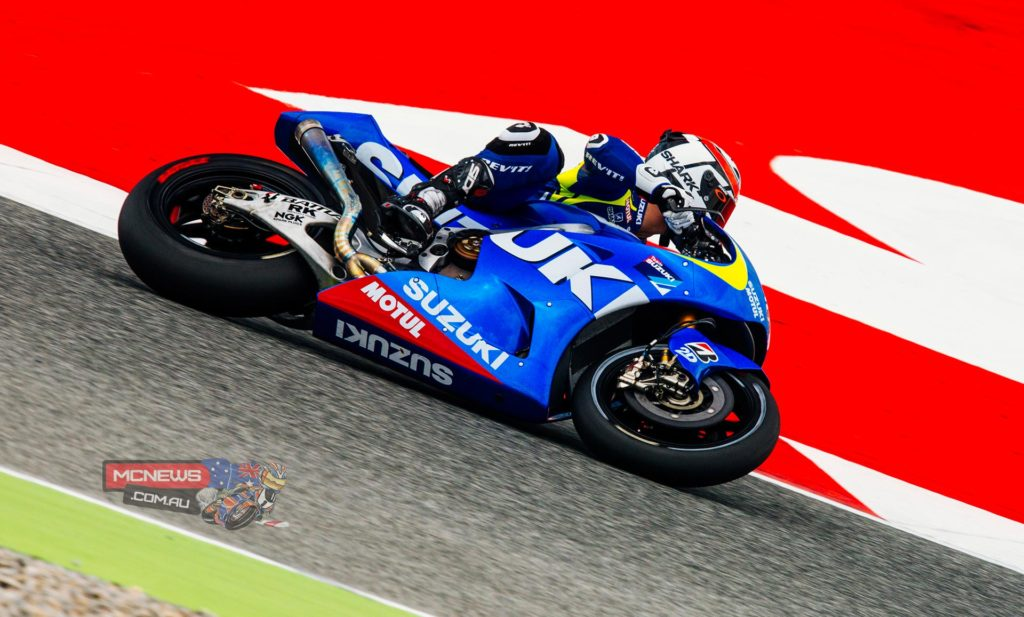 """Said De Puniet: """"It was not such an easy period as we had a lot of bad luck after Sepang with many rainy days at other tests. But it was important to be here with all the other MotoGP riders to see our potential; we still have to continue to work on the electronics-side to improve our performances.   """"We tested many different things with electronic-maps, on engine-specifications and with the chassis also. I had a better feeling with some of the solutions and we found some good direction here. We still have many days of testing remaining this year and we have time to make further developments."""""""