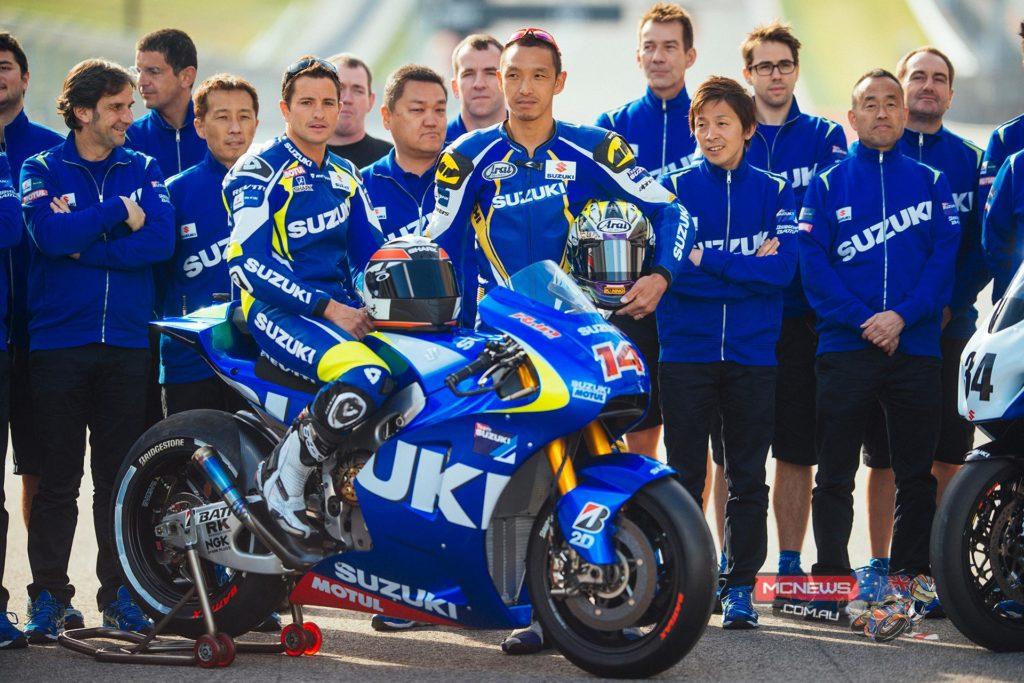 Suzuki MotoGP Test Team