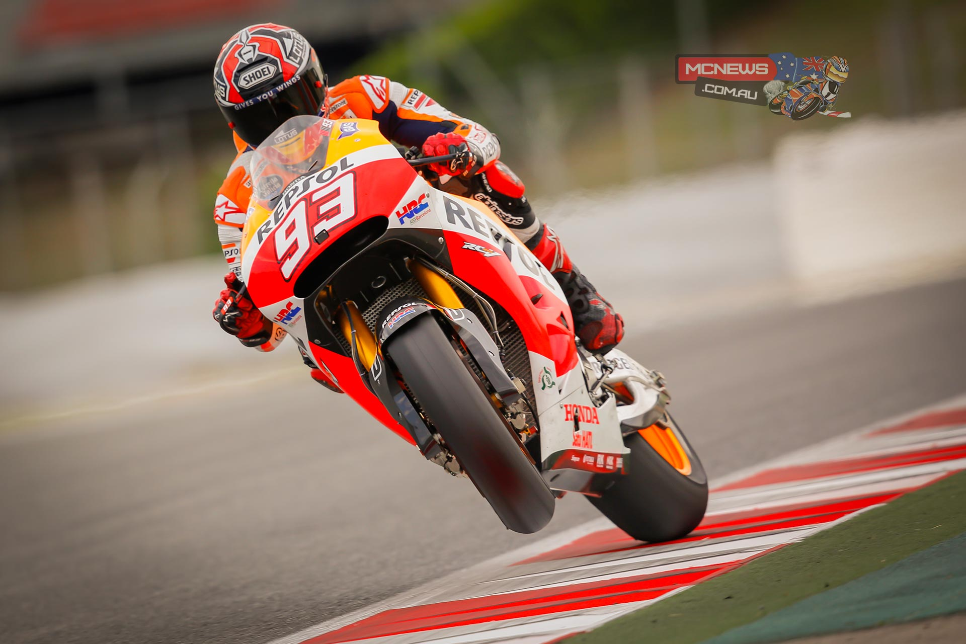 "Marc Marquez - 1st - 1'41.184 - ""Today we carried out a lot of testing: from the electronics, to the bike setup, to a bit of suspension work. I have to say, I felt very comfortable - even more so than during the Grand Prix weekend. There were also a few things that didn't completely work out, or that we weren't expecting, but this is also useful for us when it comes to picking up ideas and directions to go in for the future. Now we have to get ready for the next race in Assen"""