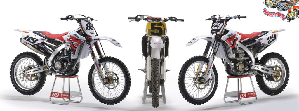 2014 YZ450FM, YZM400F and YZ250FM