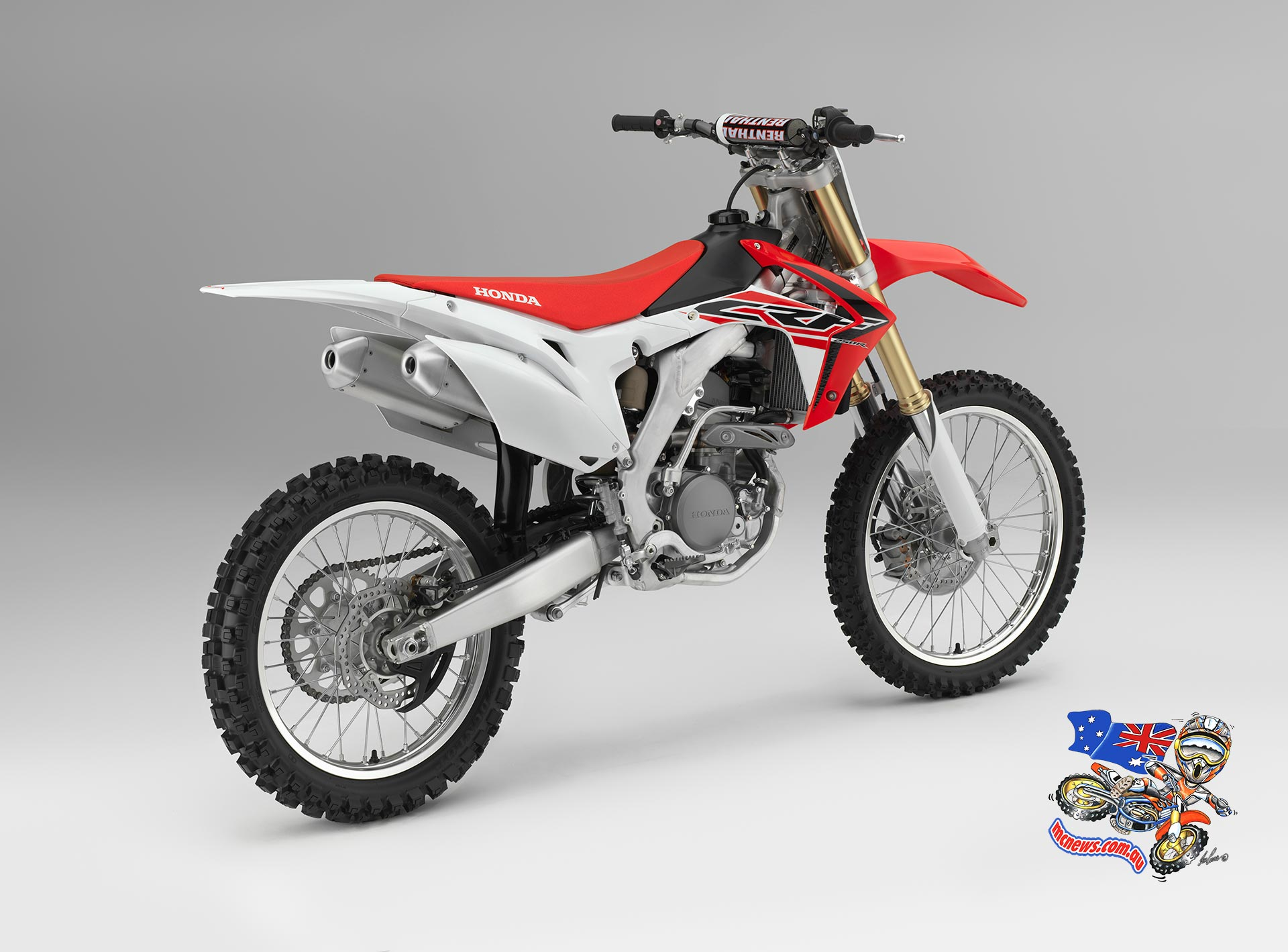 2015 Honda CRF250R - There are no changes to the CRF250R's sixth generation aluminium-twin beam frame, originally revealed on the 2013 CRF450R.