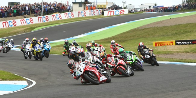 British Superbike Championship Knockhill