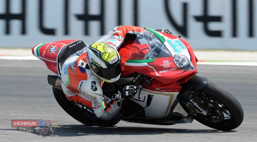 Jules Cluzel (MV Agusta Reparto Corse)
