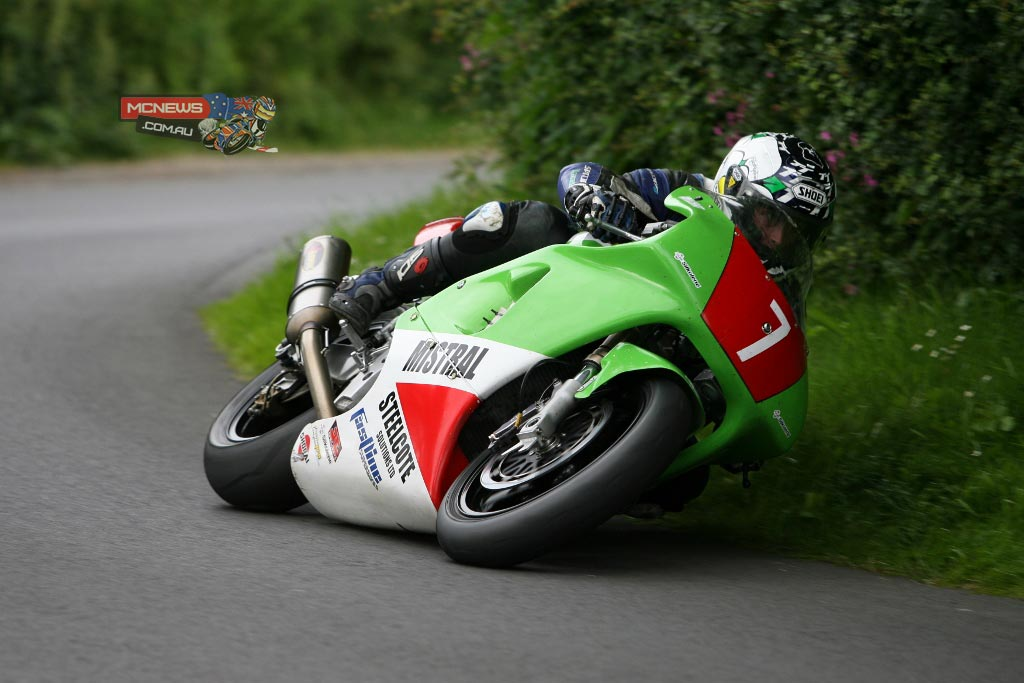 Dean Harrison on the Mistral Racing Kawasaki ZXR750