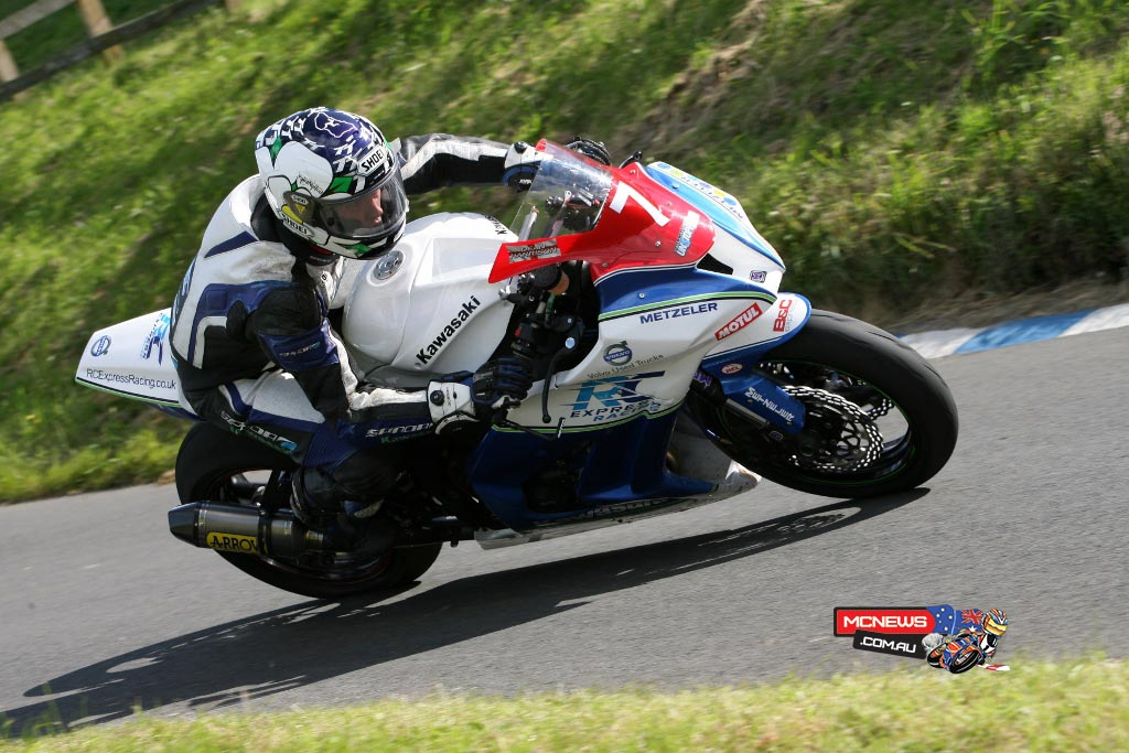 Dean Harrison on the RC Express Racing by MSS Performance Superstock ZX-10R Kawasaki