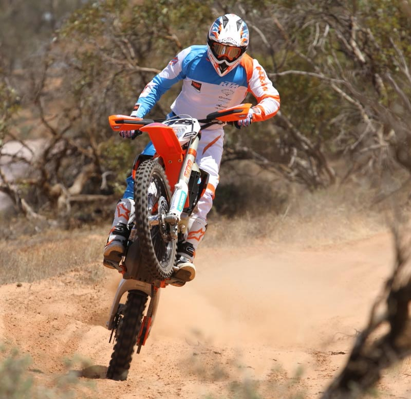 The 500 EXC is selling very well for KTM