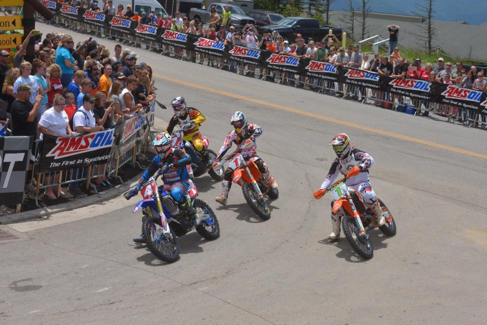 The 2014 AMSOIL Grand National Cross Country Series heads into a break for the summer, resuming in October with round ten.