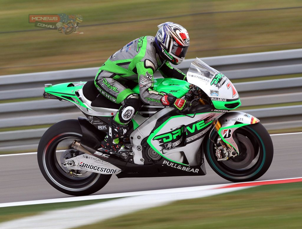 """16th Hiroshi Aoyama 1.35.787 (40 laps): """"We have been lucky that the weather has been on our side so far here in Holland. We have been able to do a lot of work on the set-up of the bike, especially this afternoon when I tested a new configuration for the front fork, which seems to work much better than the old one. I am really happy with the feeling I had with the bike today and even though we clearly need to improve I am satisfied we are on the right path. Hopefully we get more good weather tomorrow so that we can keep working in the same way. We tried the softest option tyre today and the feedback was good, also in terms of durability. If we can do full race distance on it then that will be our choice for Saturday. We're still not clear about the front tyre yet though, that will depend on the track conditions."""""""