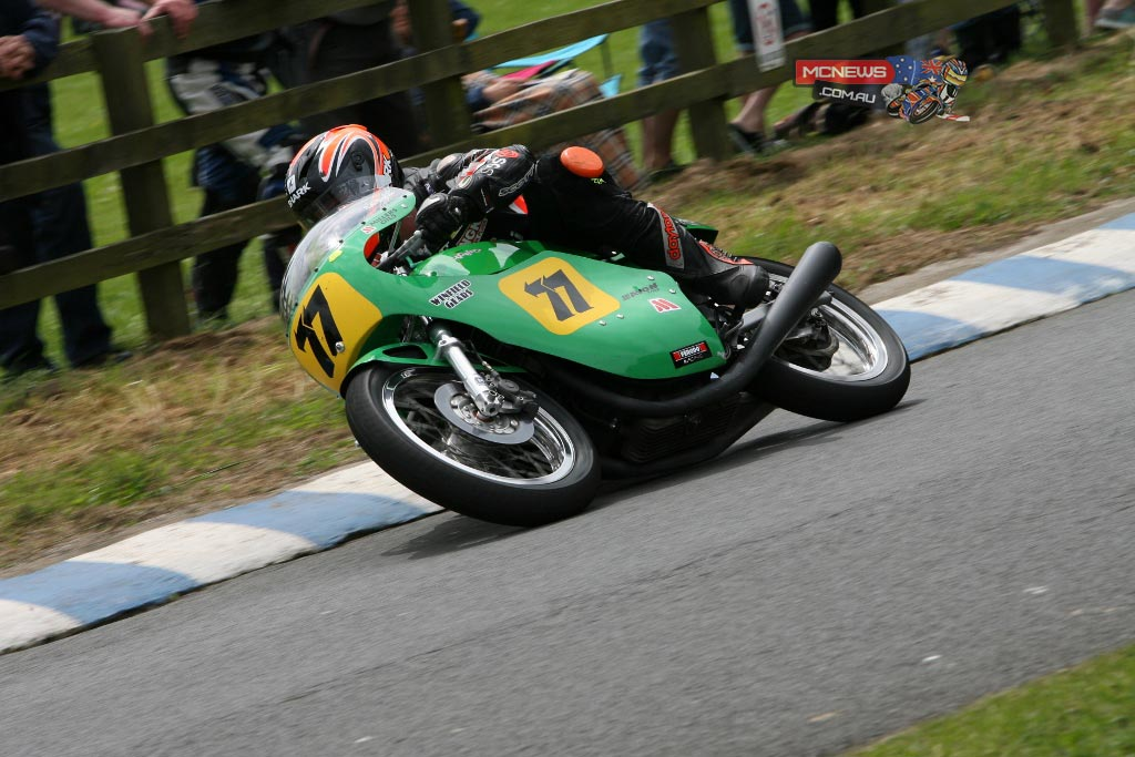 Ryan Farquhar on Roger Winfield's 500cc Paton