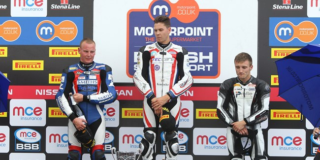 British Supersport Race Two Podium