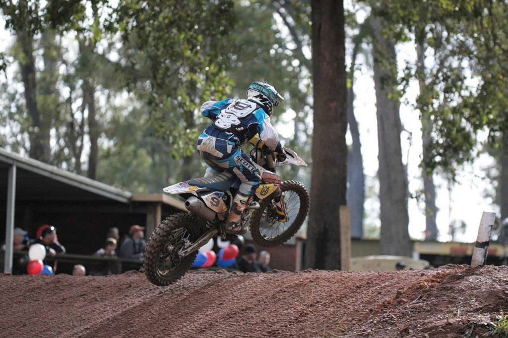 """Brock Winston (FC 450) """"Manjimup was huge! I couldn't believe how many people were there. The races were fun, the track's really enjoyable and there were a lot of guys out there racing - the atmosphere was great. I was pretty happy with how I went, the first moto I came through really strong and in the second, I nearly caught Townley - who was leading - at the end. Then I got a third and then another third. It was a pretty good day. The last race was getting a bit sketchy with the sun getting in the eyes so I backed off a bit so as not to ruin the day or my season, but Manjimup is a cool track. My speed's getting there, I still need to work on a couple of things, but I feel like it's all coming - it just doesn't happen overnight. I want to be as strong as I can be and as long as I keep working on my weaknesses I can."""""""