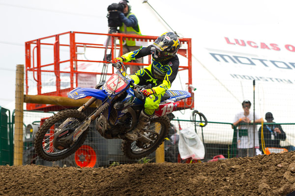 Martin looked to keep his dominant start to the 250 Class season going. (Photo: Chris Ortiz)