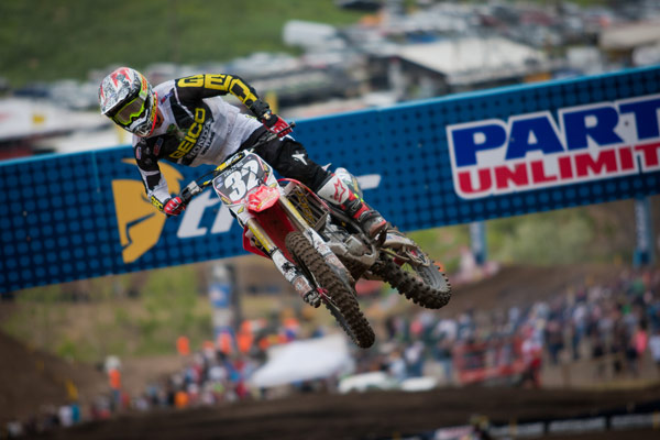 Bogle had a career day with 3-2 moto finishes. (Photo: Matt Rice)