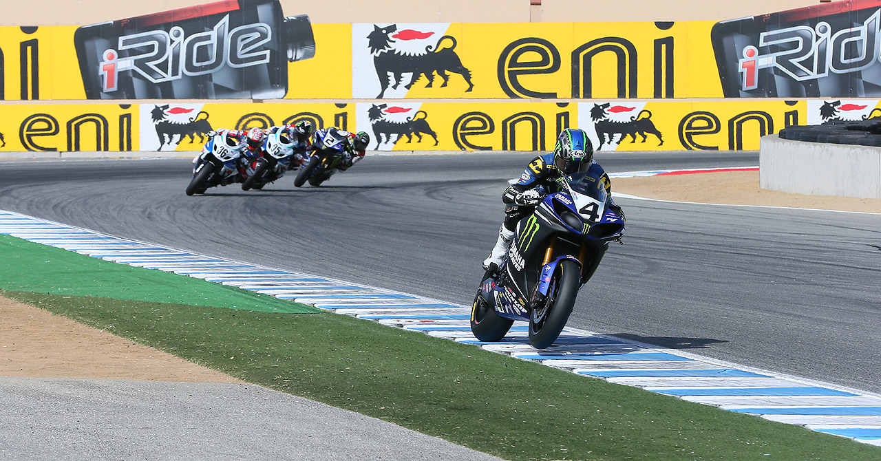 Monster Energy Graves Yamaha's Josh Hayes and his No. 4 Yamaha YZF-R1 power into the Buckeye SuperBike Weekend at Mid-Ohio Sports Car Course in Lexington, Ohio with four consecutive AMA Pro SuperBike victories on his side and a fourth-career premier class title in his sights.
