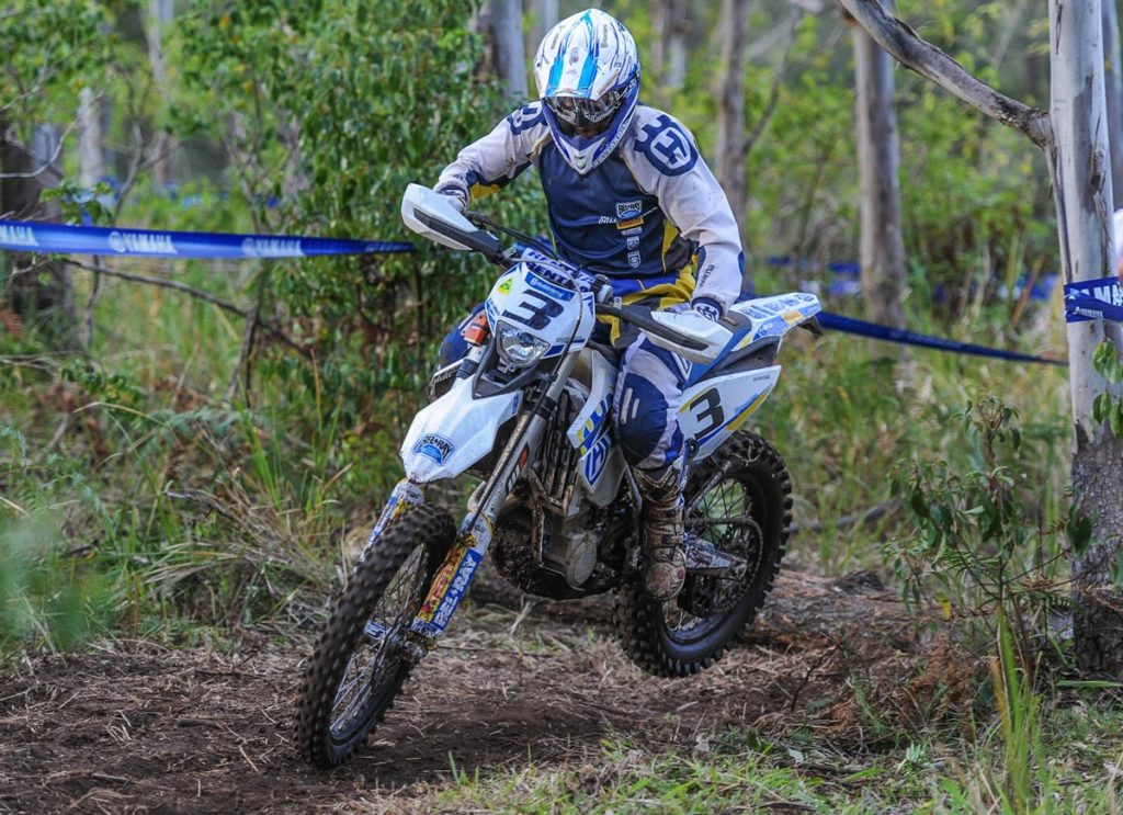 """Husqvarna Enduro Racing Team Manager Glenn Kearney - FE501 """"Had to buy the kid dinner tonight. That's the deal if he beats me, and Lachy rode real well here. Especially today, I think two or three of those tests he was on the same second as the leaders. For me the biggest positive was two wins in the class, but overall it was fairly disappointing. I struggled yesterday but managed to come away with fourth over Greeny. I thought we'd turn it around today but we were actually worse. It took me until this afternoon to figure out I wasn't riding the 500 the way I should have been and two of the tests were killing me. Once I got more aggressive and got over the front of the bike it started working like it should. My own fault really, but second Outright is still a nice place to be."""""""