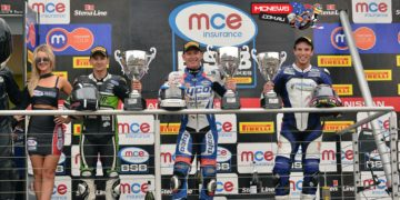 """SBK Race Two - Waters said: """"This is awesome and not something I was expecting after the weekend I have had, but it was pretty cool when I got the lead. Then with five laps to go I was concentrating on keeping the gap."""""""
