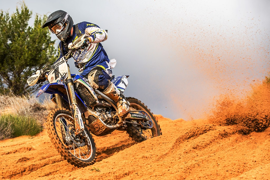 Active8 Yamaha's Josh Green finished second outright in the 2014 Hattah Desert race