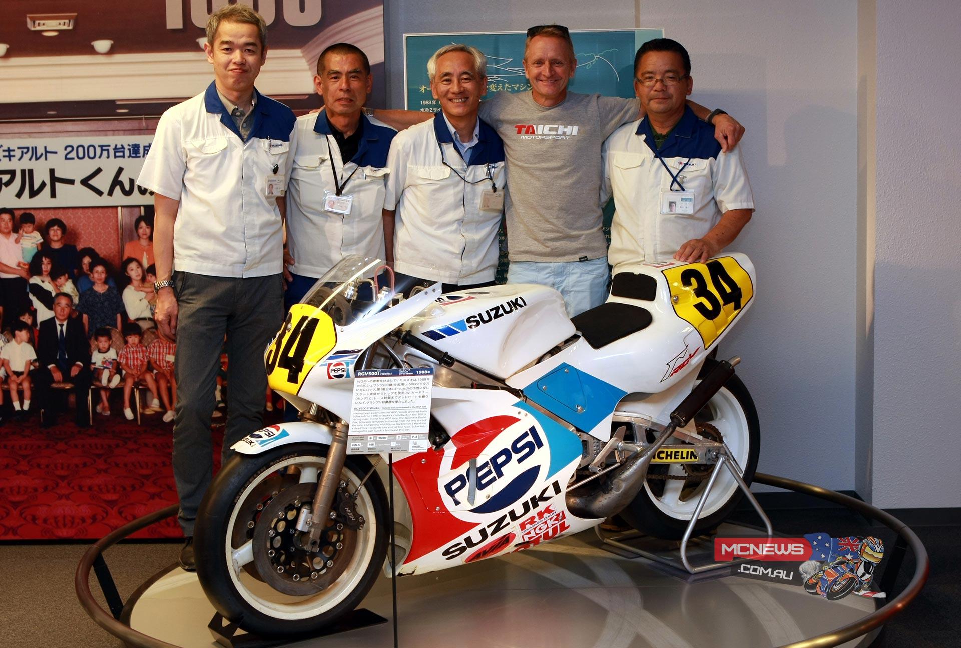 Suzuki MotoGP R&D staff