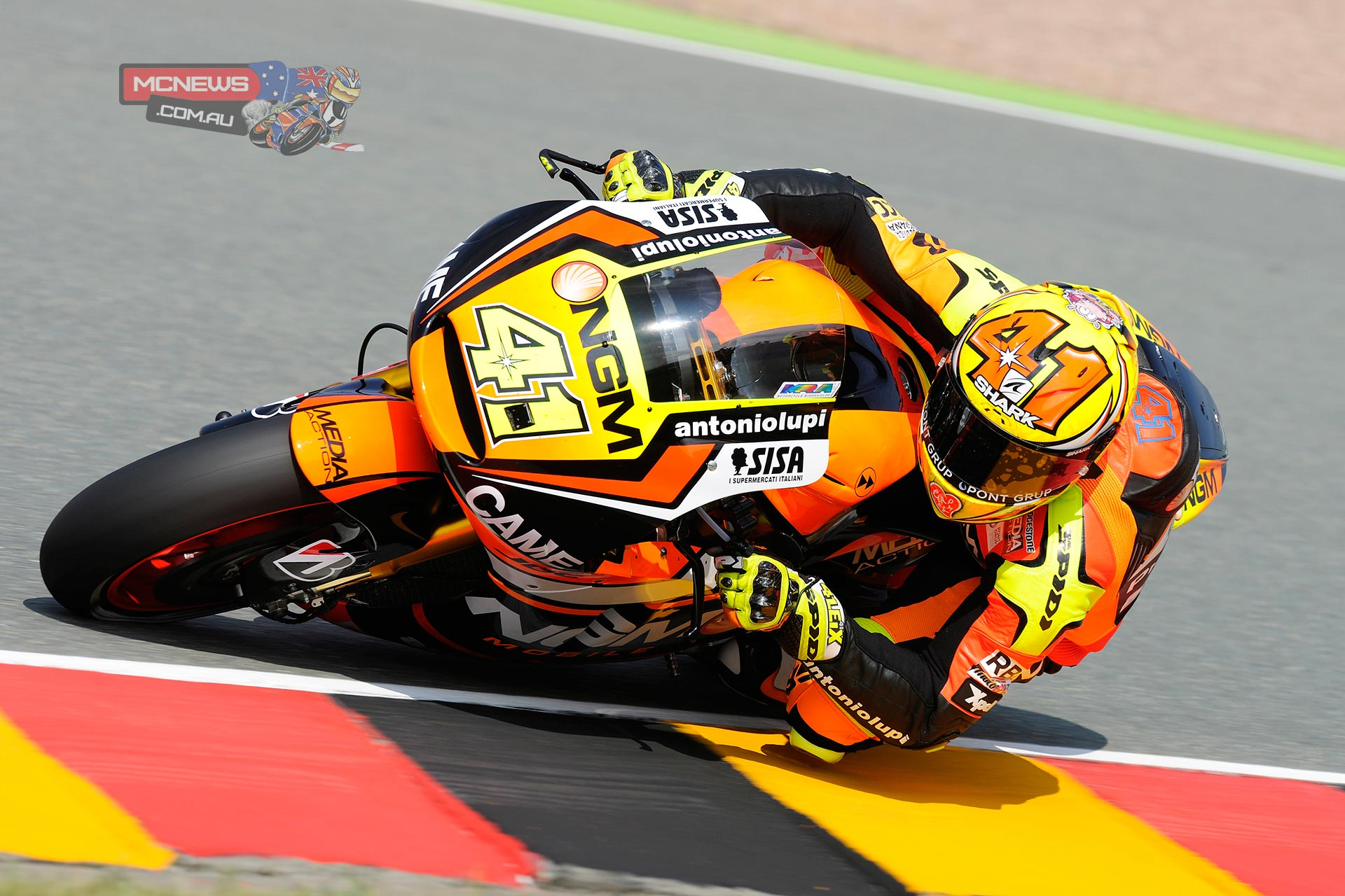 "Aleix Espargaro - ""We continue our positive momentum. With Barcelona and Assen, this is the third race that we are constantly improving and today I'm satisfied because in the FP2 we tested the Forward chassis and it worked really well. We set the third fastest time with a tyre that had 22 laps on and the feeling was very positive. Sachsenring is a very special track for its layout and we will need to test it also on other circuits, but the feeling was really good. Tomorrow we will continue to work in this direction and if everything works well I want to use it also for the qualifying. I have also enjoyed riding here at Sachsenring. I'm confident because we have a good race pace and tomorrow we can make another step forward."""