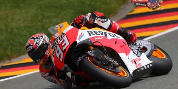 """Marc Marquez, Repsol Honda: pole position – 1m 20.937s - """"The weekend has been affected by the crash I suffered yesterday, but I kept my nerve and little by little we've been getting better. I felt good yesterday afternoon and I was much better this morning. In the few laps I did in FP4 I could see that we had a good pace and a chance to fight for pole position. With the first tyre I didn't feel entirely comfortable, but with the second one I had a good feeling and could see that there was good grip, so I decided to push a little more and put in a strong lap. Starting from the front is important for the race tomorrow, because this is a circuit where it is difficult to overtake. We will try and keep up the pace from practice, which I think has been good."""""""