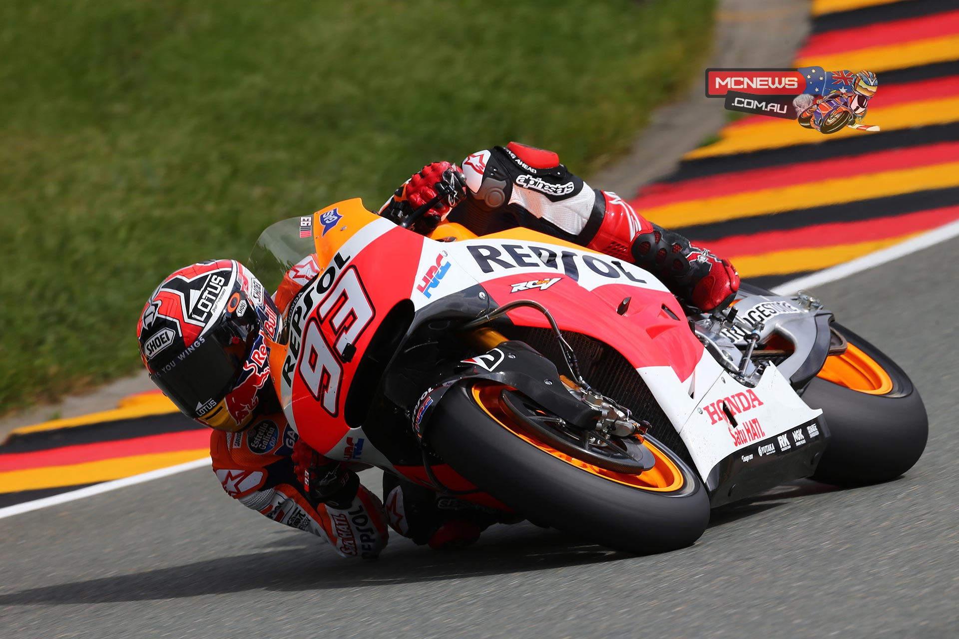 "Marc Marquez, Repsol Honda: pole position – 1m 20.937s - ""The weekend has been affected by the crash I suffered yesterday, but I kept my nerve and little by little we've been getting better. I felt good yesterday afternoon and I was much better this morning. In the few laps I did in FP4 I could see that we had a good pace and a chance to fight for pole position. With the first tyre I didn't feel entirely comfortable, but with the second one I had a good feeling and could see that there was good grip, so I decided to push a little more and put in a strong lap. Starting from the front is important for the race tomorrow, because this is a circuit where it is difficult to overtake. We will try and keep up the pace from practice, which I think has been good."""