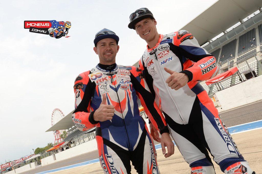 Jamie Stauffer and Troy Herfoss
