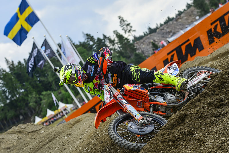 Antonio Cairoli, impressive double race victory for the 70th Grand Prix win of his career.