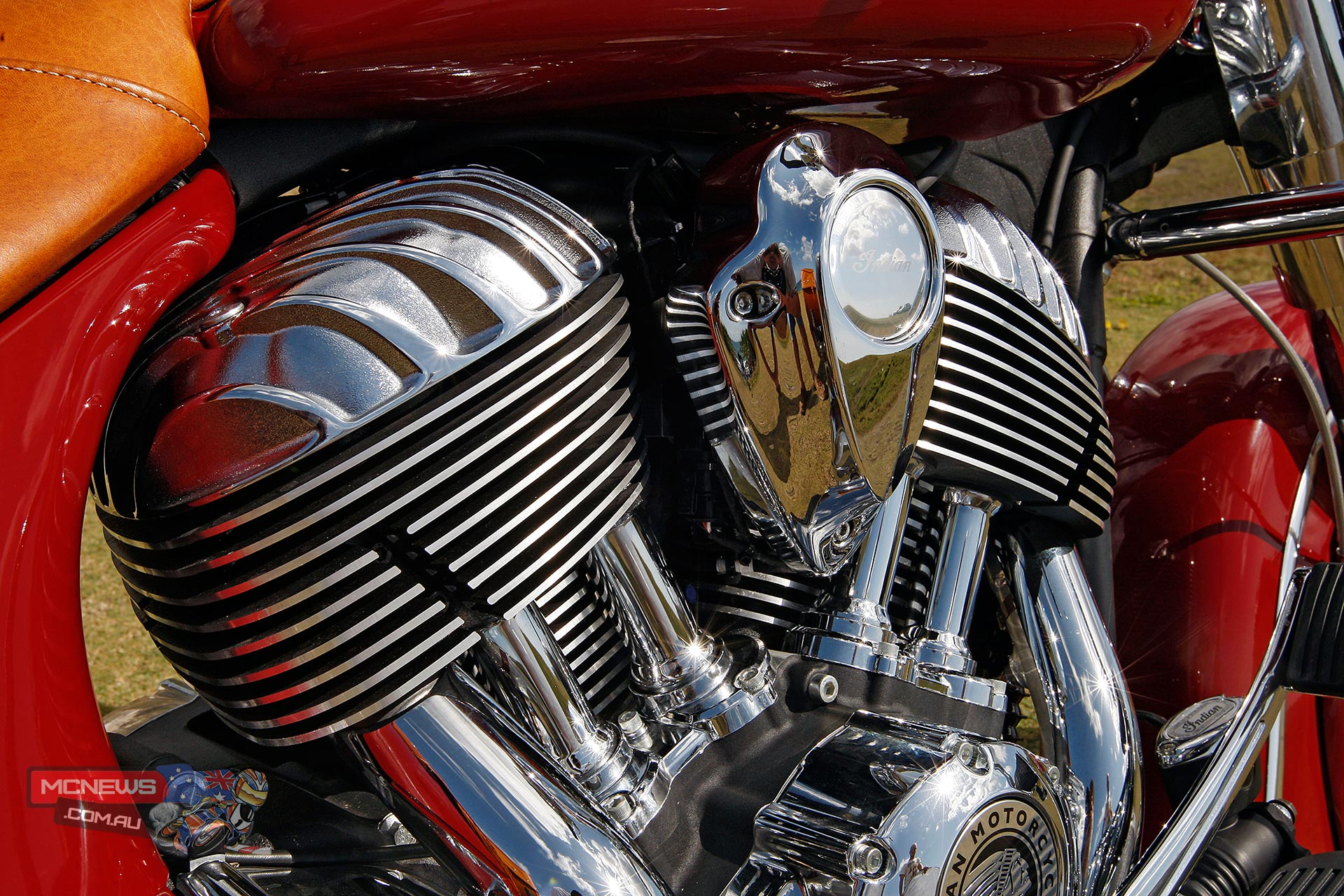 Indian Thunderstroke 111, 1811cc - narrow 49-degree vee