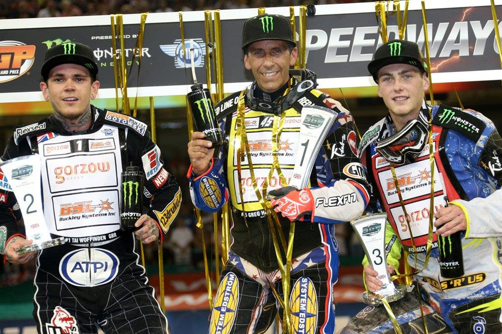 Hancock wins British GP from Woffinden & Ward