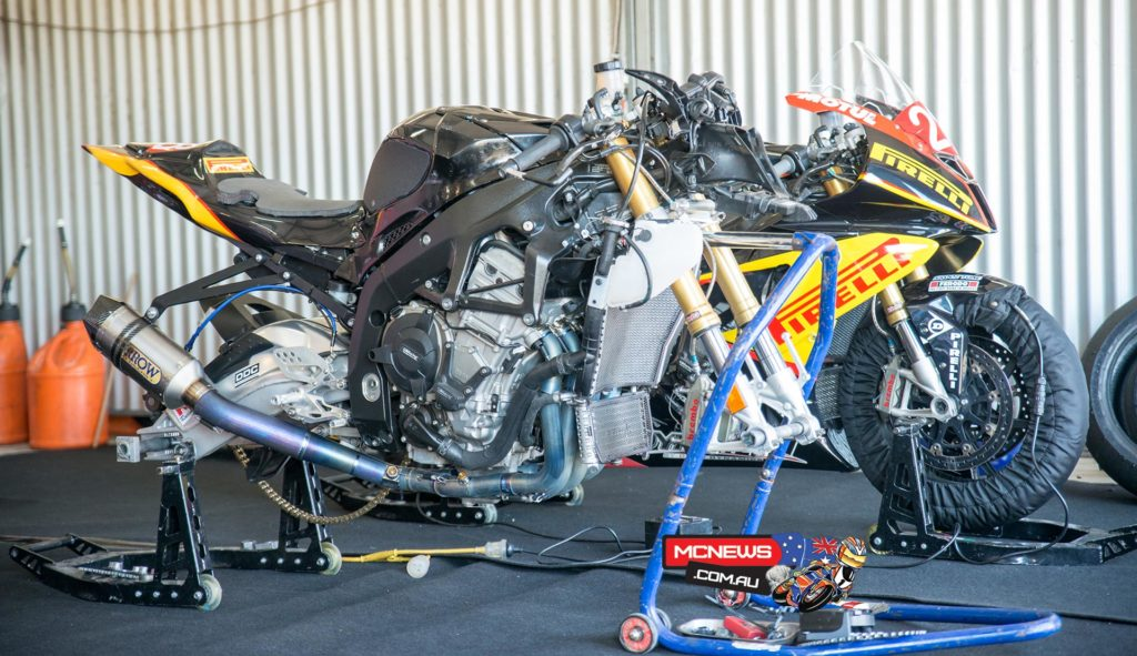 Many riders frustrated by the power of Glenn Allerton's BMW S 1000 RR