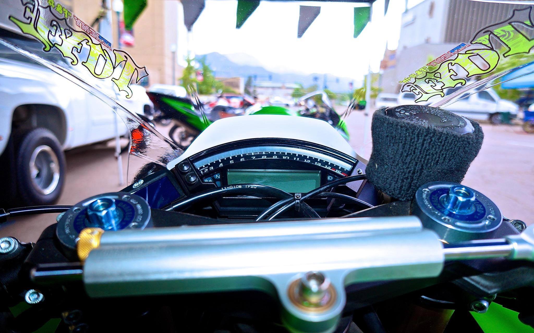 Jeremy Toye's Kawasaki ZX-10R