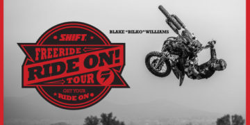Ride with Jeff Emig, Bilko & Cam Sinclair at Shift Ride On Tour
