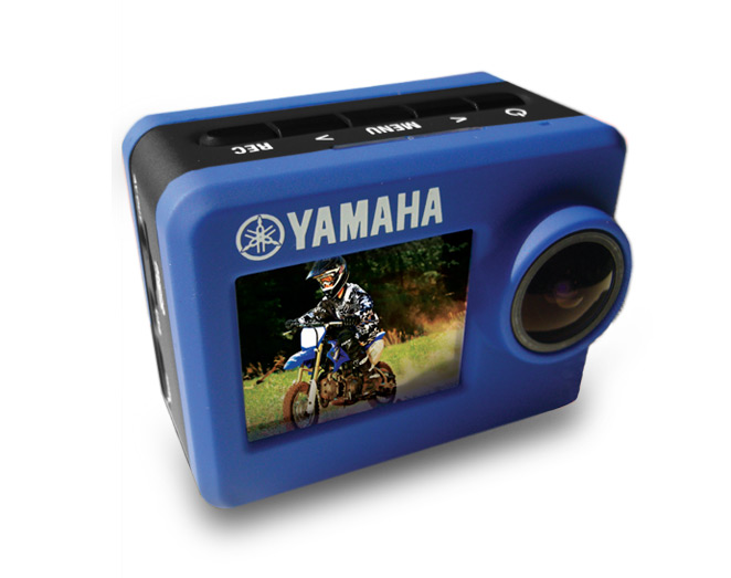 Yamaha action camera