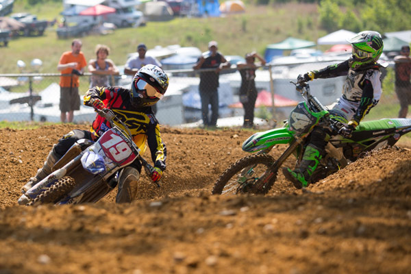 It was once again Baggett (4) versus Martin (19) in a fight for victory. (Photo: George Crosland)