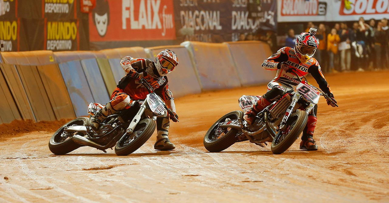 MotoGP World Champion Marc Márquez will serve as Grand Marshal of the 2014 Indy Mile AMA Pro Flat Track Grand National