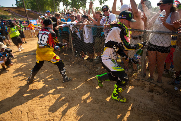 The stage is set for Martin vs. Baggett over the final five rounds. (Photo: Matt Rice)