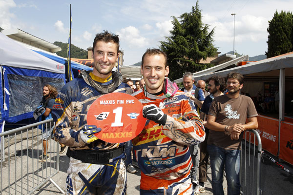 The E2 and E1 Champs: Pela Renet and Christophe NAMBOTIN