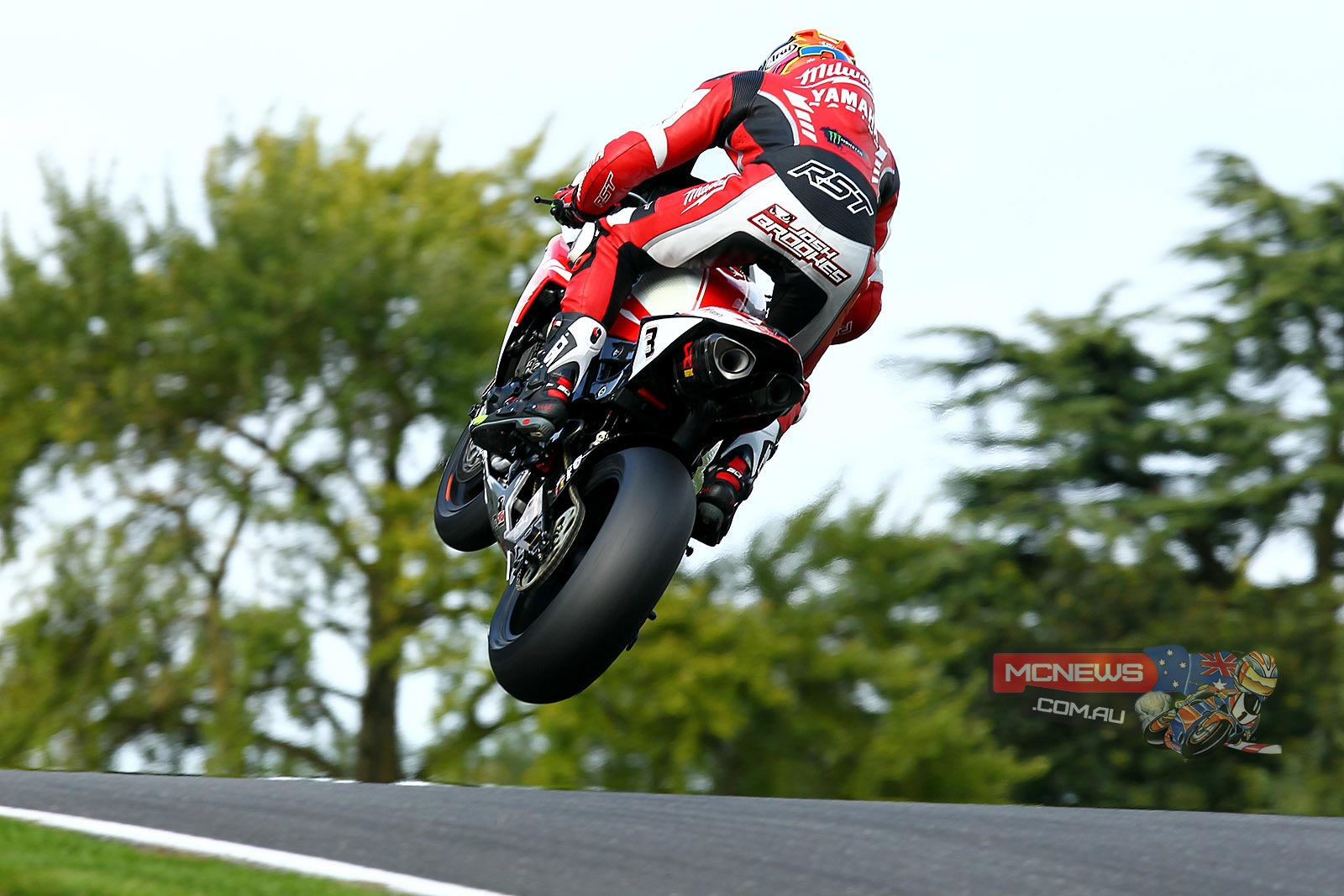 Josh Brookes spectacular at Cadwell Park but struggling a little for pace