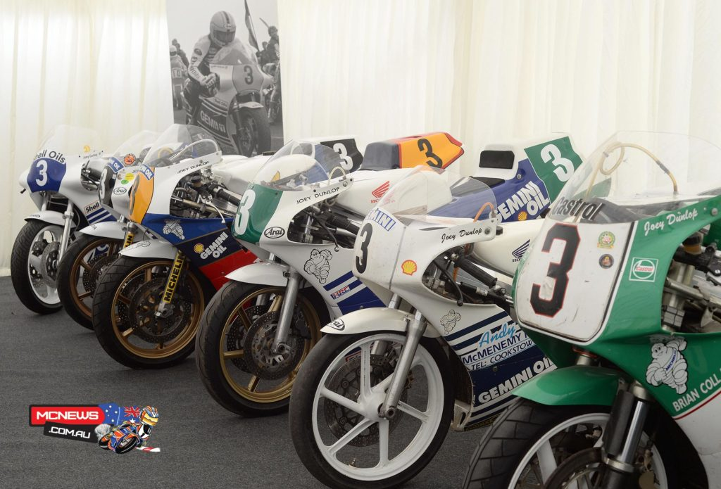 Joey Dunlop Race Bike collection ready to be unveiled