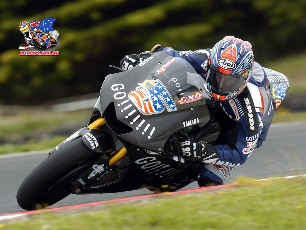 Colin Edwards 2005 at Lukey Heights