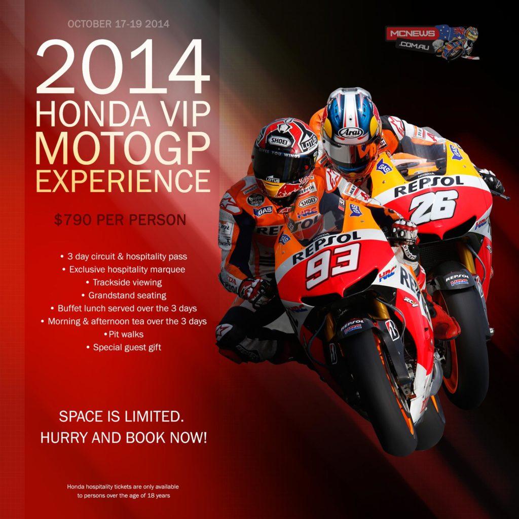 Honda MotoGP VIP