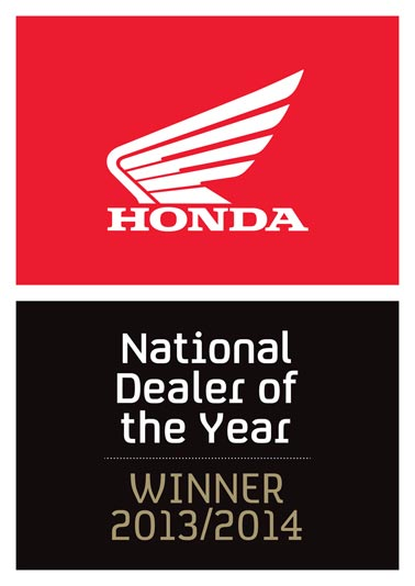 West Coast Honda Motorcycles National Dealer Of The Year 2013/2014
